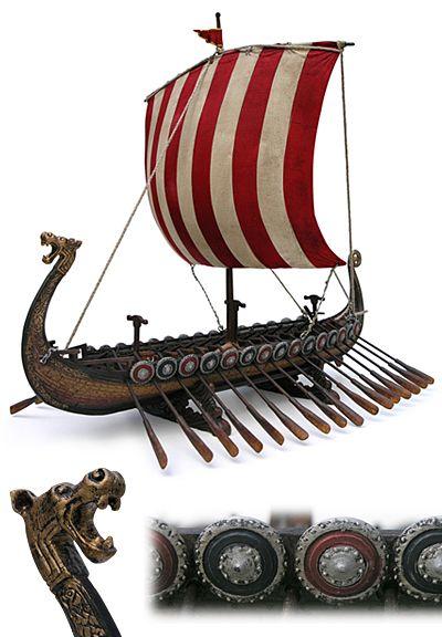 Viking longships. | Vikings, Viking ship, Viking longship