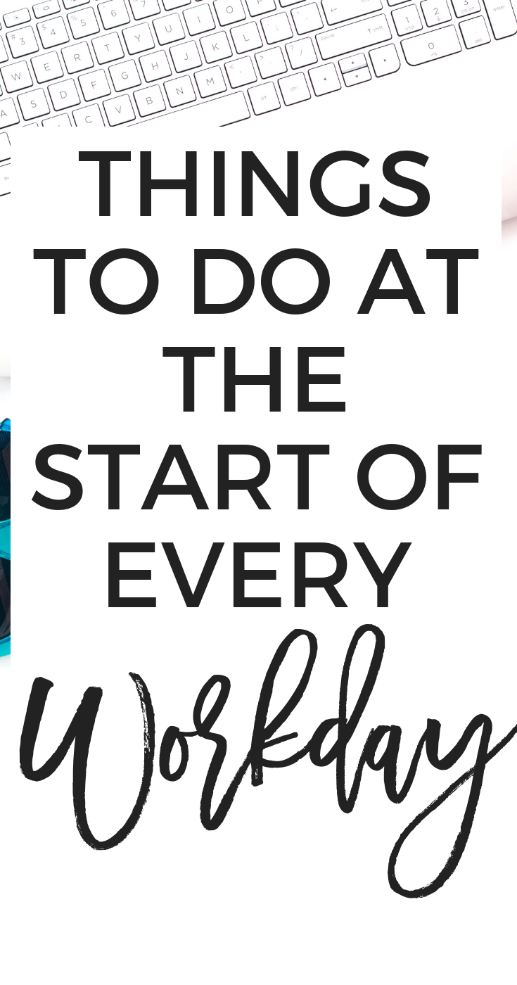 Do These Things Every Morning For A Productive Day Erin Gobler Productive Day How To Stay Motivated Productivity
