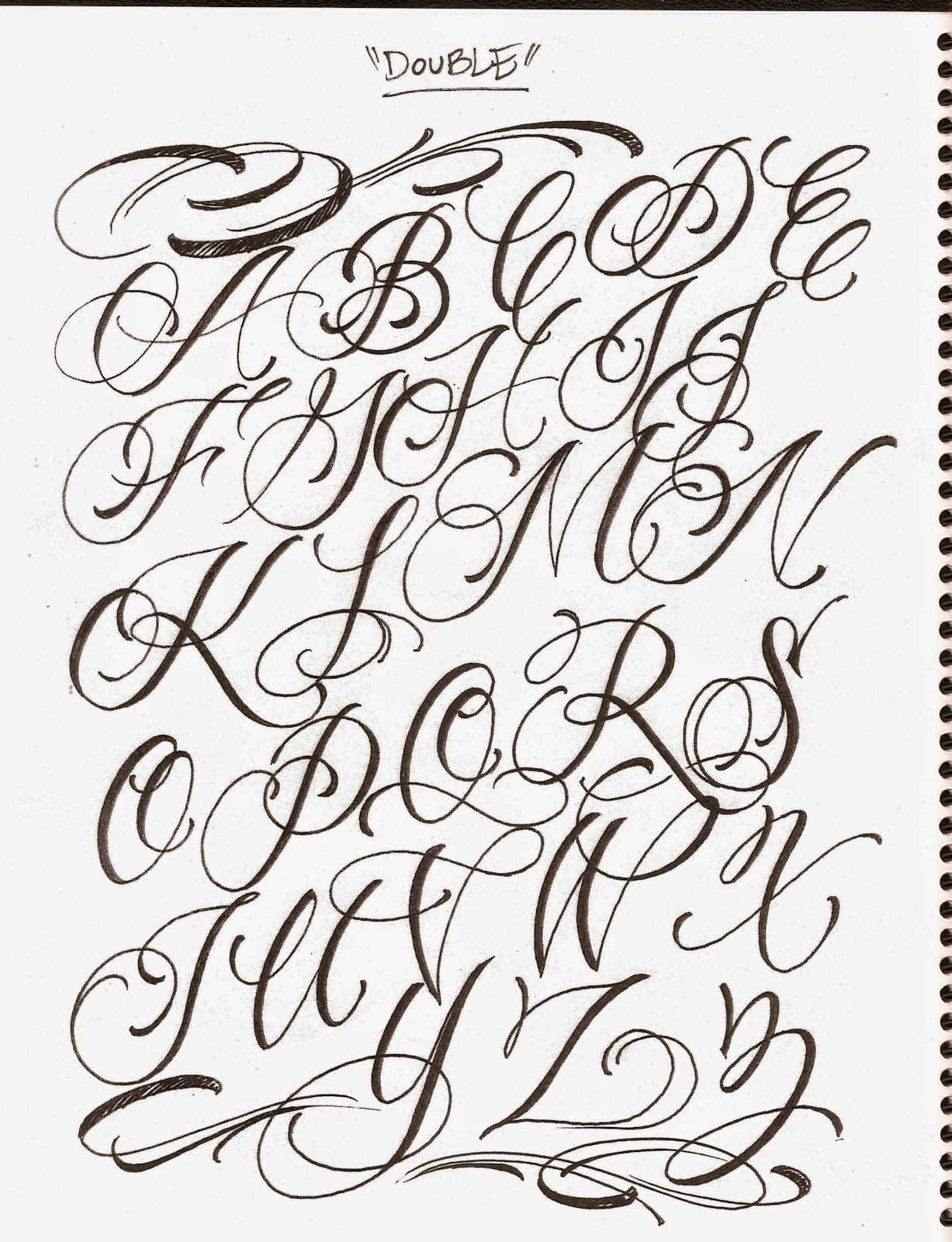 Calligraphy Tattoo Pinterest Pin By Oapaos Roosl On Tatt Pinterest Letras Caligrafía And