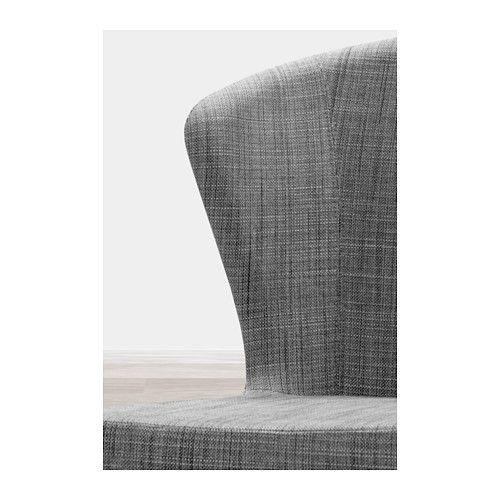 ODDMUND Chair, Isunda gray