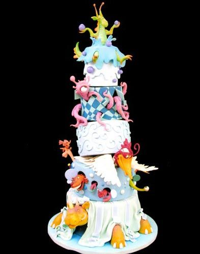 Crazy wedding cakes and Wedding cake