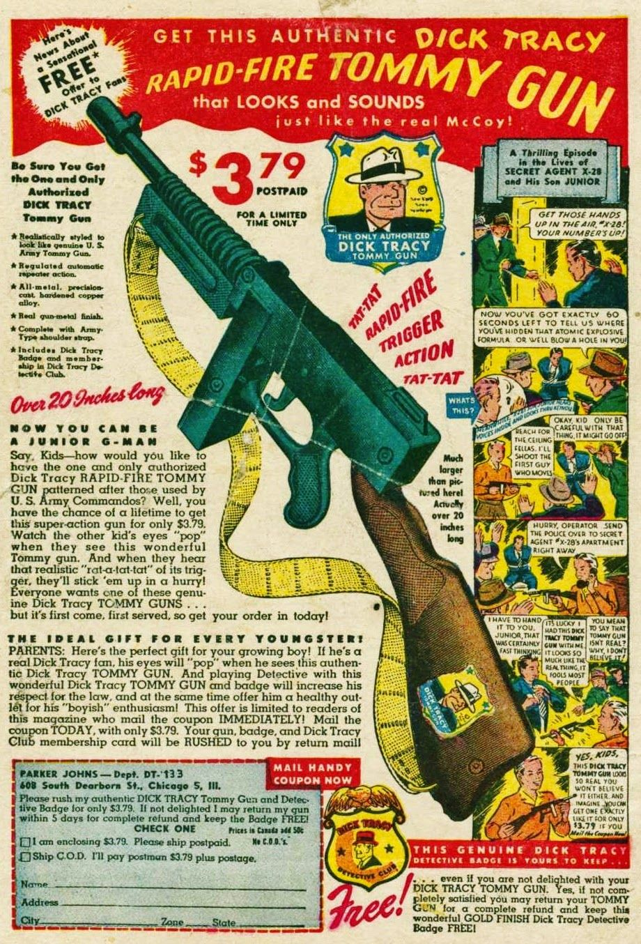Bill Crider's Pop Culture Magazine Today's Vintage Ad is part of Vintage comic books -