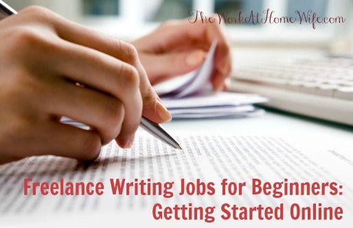 Freelance Writing Jobs for Beginners Newcomer Essentials - writing internships online