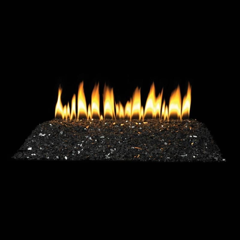 White Mountain Hearth By Empire 24 Inch Black Polished Crushed