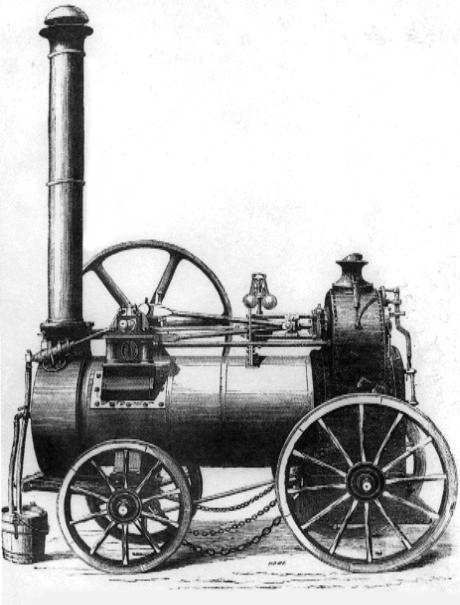 who invented the steam machine
