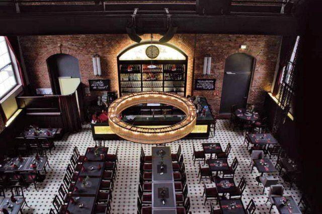 Cement tile flooring #restaurant #design  Restaurant Inspirations 4  Pinterest