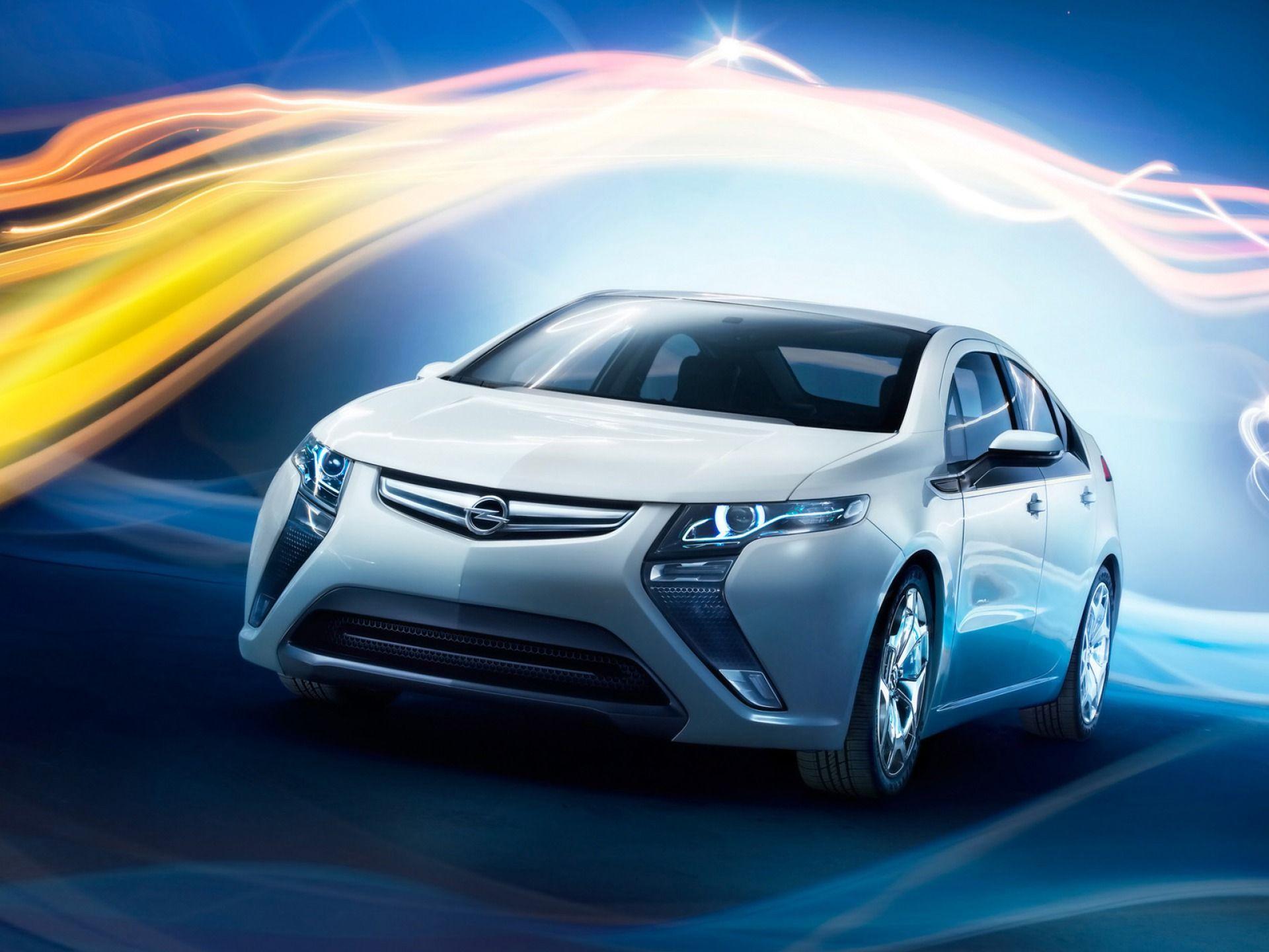 Opel Flextreme Concept Front Grille Emblem x Cabrio
