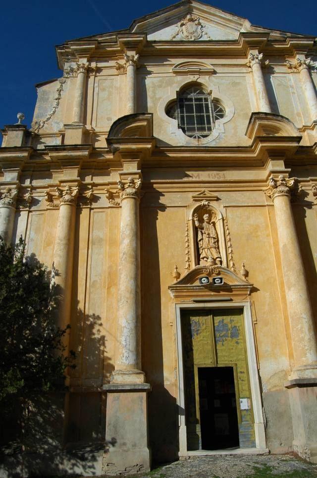 Castellaro (IM) Chiesa Parrocchiale di San Pietro in Vincoli (1619) http://ift.tt/29ea0QX
