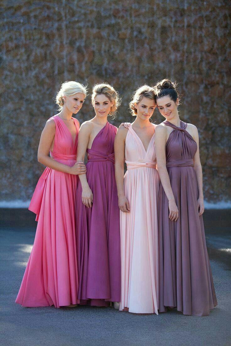 Colores para los vestidos de damas | Ideas d boda: vestidos ...