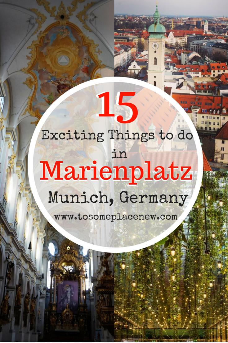 Guide To Marienplatz Munich Old Town Munich In A Day Aktivitaten Munchen Gute Reise Munchen
