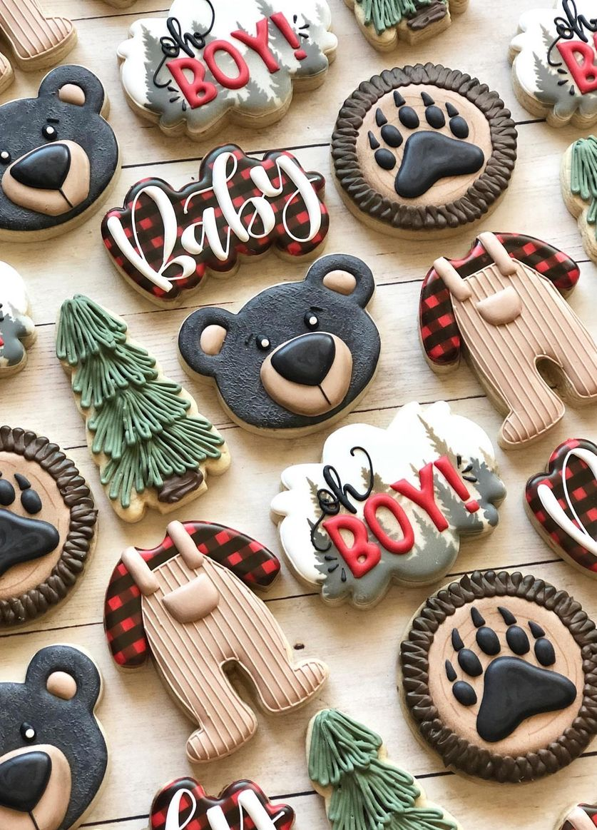 50+ Best Decorated Baby Shower Cookies For Your Bi