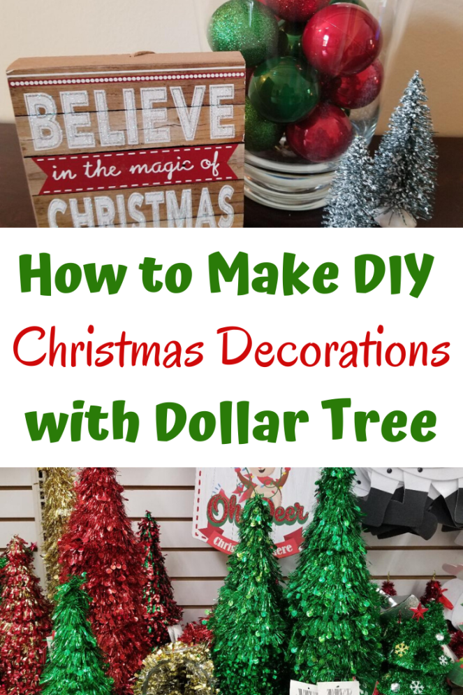 Simple DIY Christmas Decorations from Dollar Tree. How to make cheap decorations that will look beautiful. Find out what to buy and how to place it in your home for the holidays. #dollartree #christmasdecor #christmasdecorations #holidaydecor #cheapdecorations