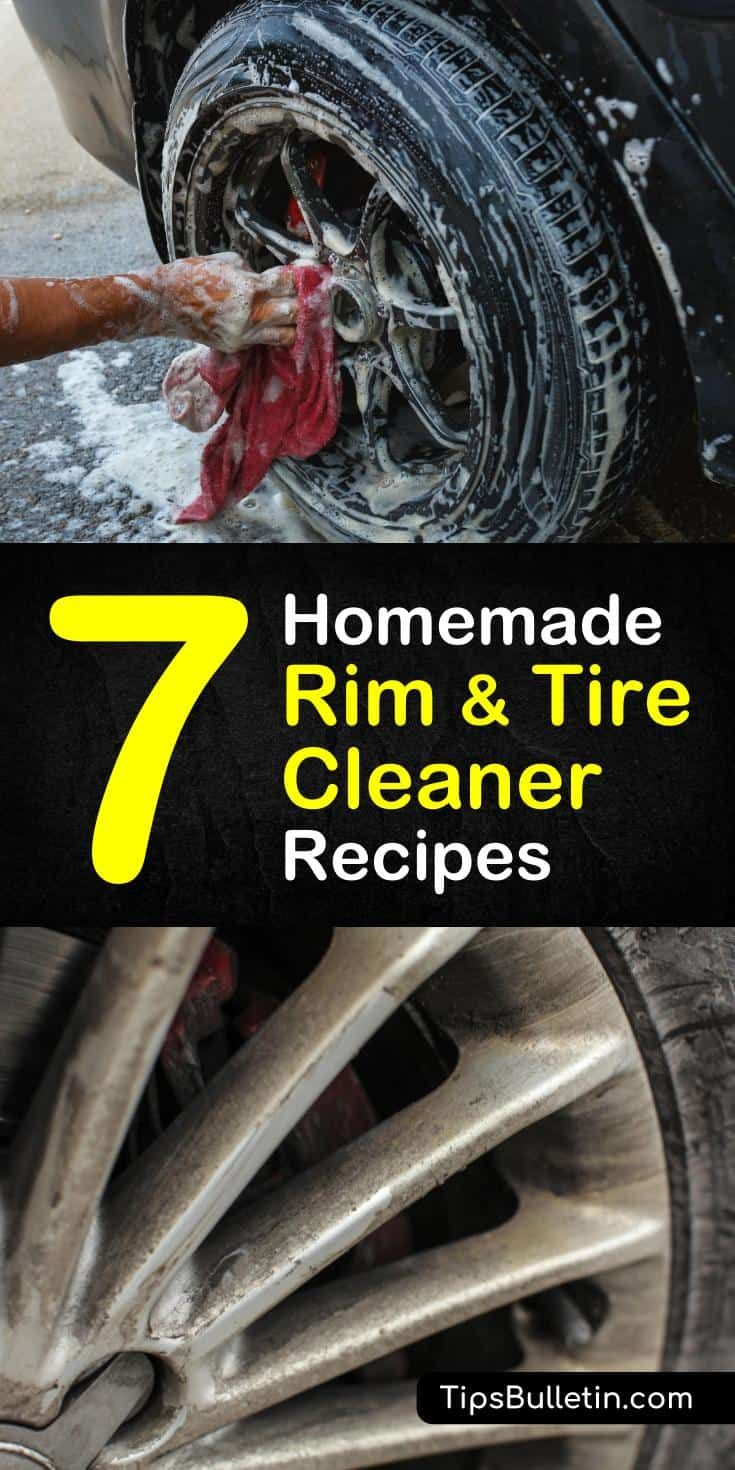 Homemade Rim and Tire Cleaner Recipes: 7 Ways to Remove Grease and...