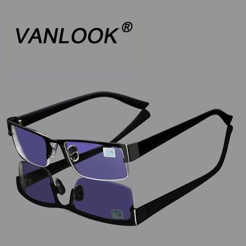 bbdf227f5d Stainless Myopia Glasses For The Computer Men Eyeglasses Clear Lens  Spectacles Antimodlilj