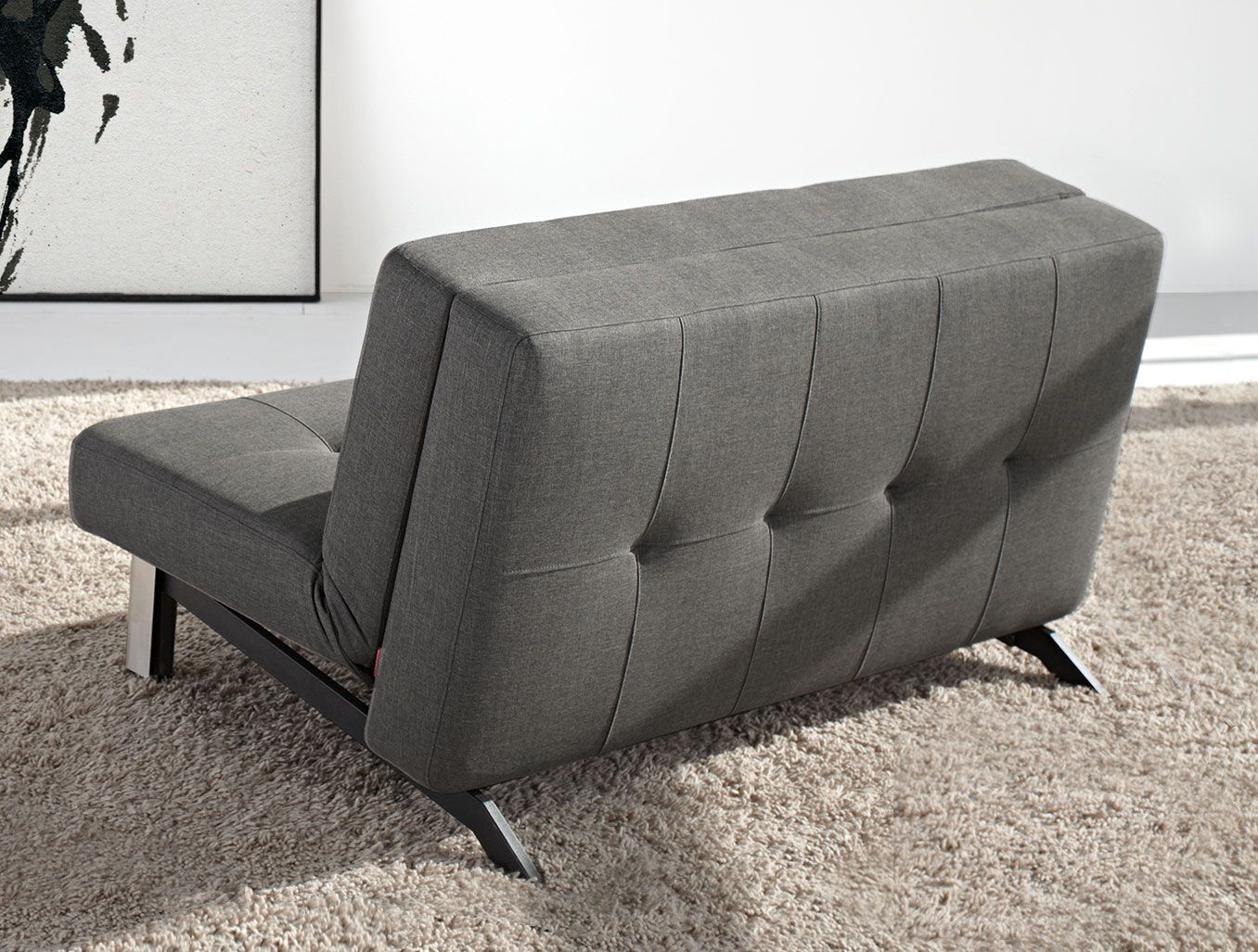 Sofa Klassisch klappsofa kenway ein edler langschläfer mit klassischer steppung
