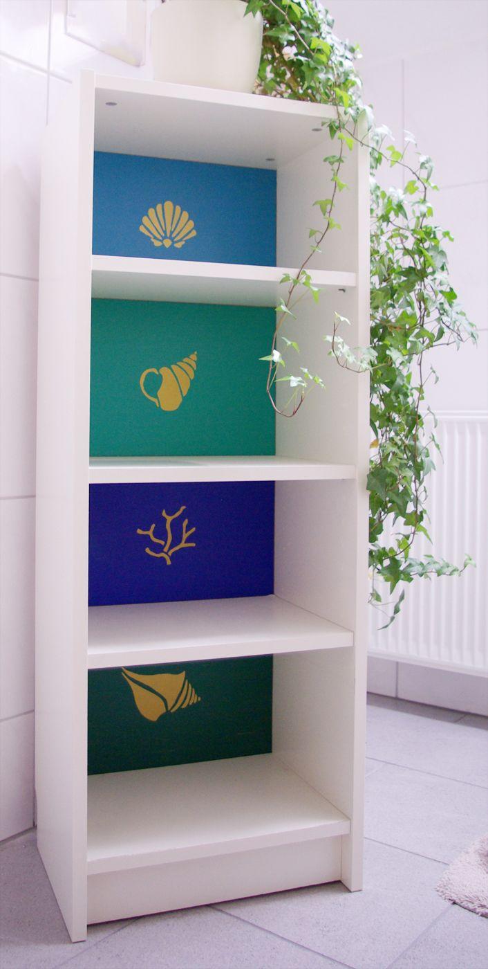 Ikea Regal Billy ikea billy regal farben muster diy kinder kinder