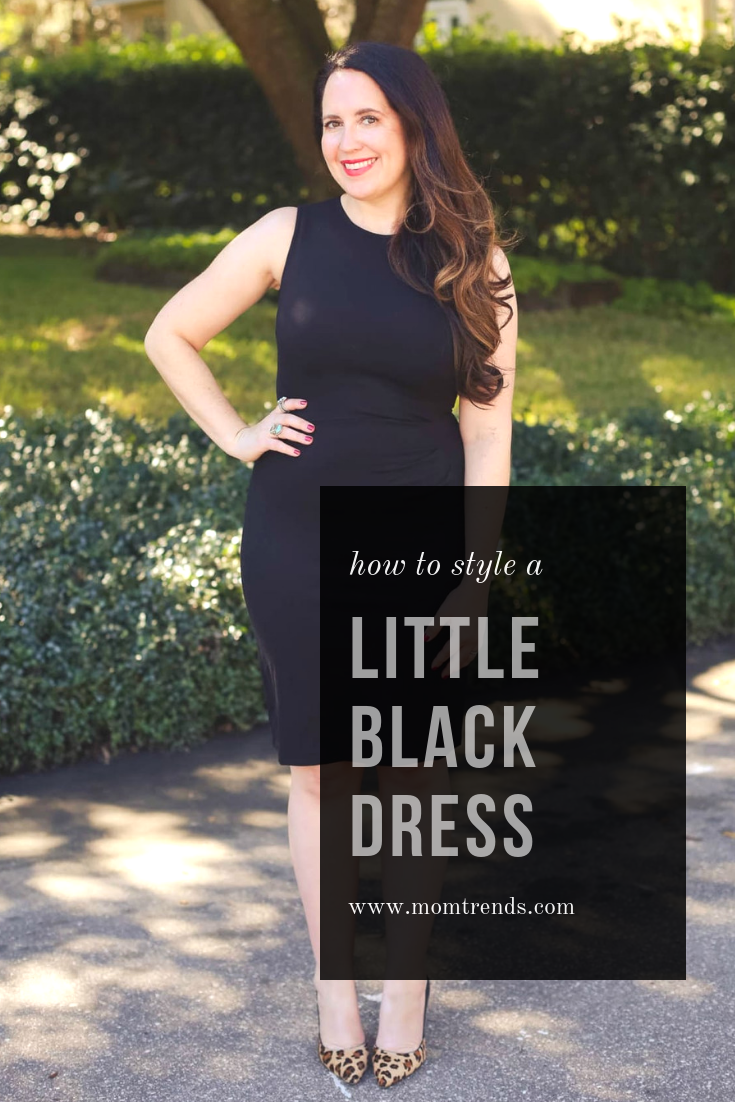7fe40850ccde How to style and accessorize a little black dress. #littleblackdress  #womensfashion #womensoutfit #fashion