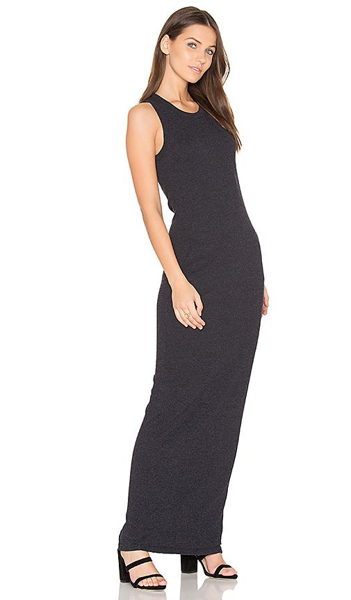 b6b28299348fe2 Shop for James Perse Sleeveless Maxi Dress in French Navy at REVOLVE. Free  2-3 day shipping and returns