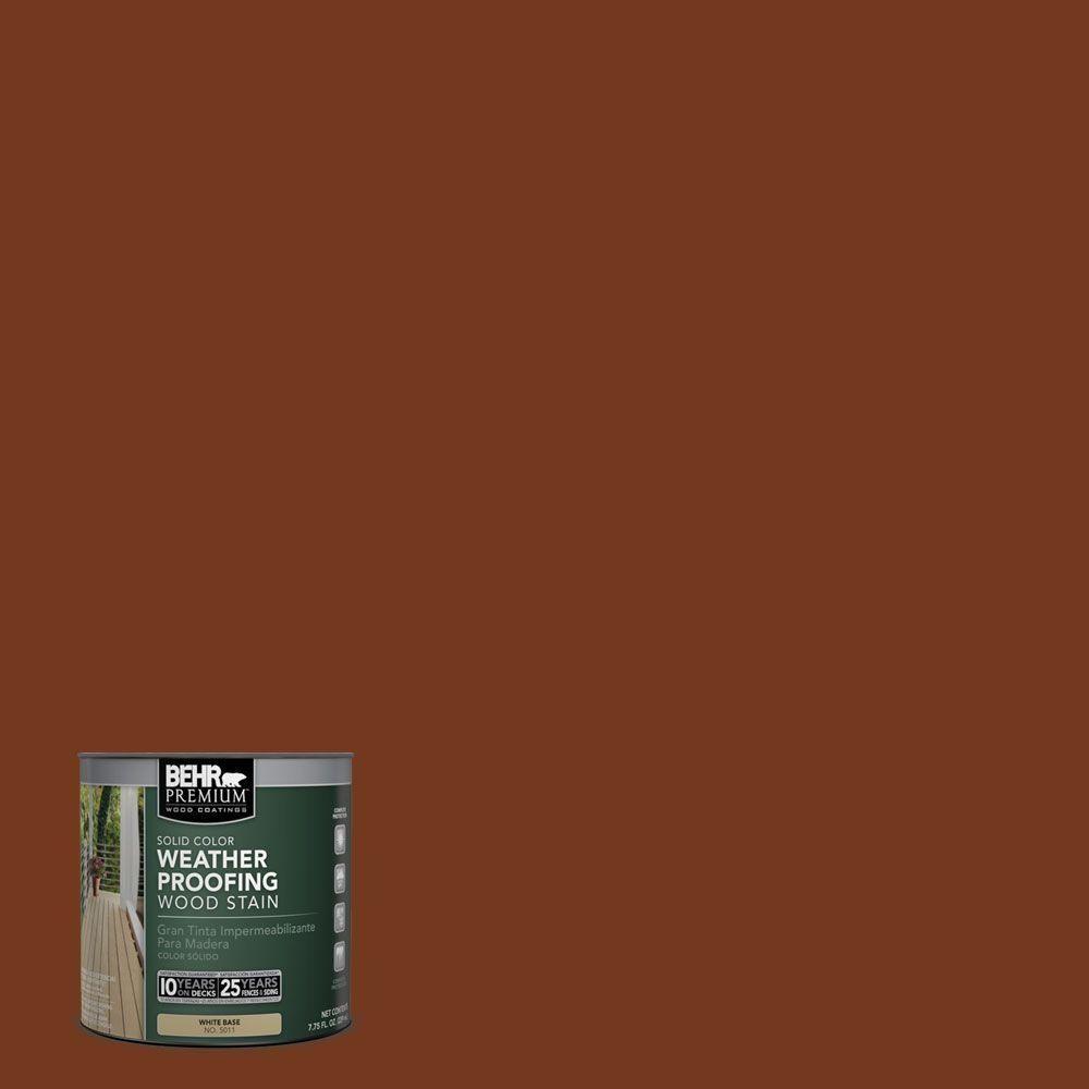 Woodbridge Home Exteriors: BEHR Premium 8 Oz. #SC-116 Woodbridge Solid Color