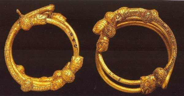 Etruscan bracelets from the Regolini-Galassi Tomb. 7th. century BCE  