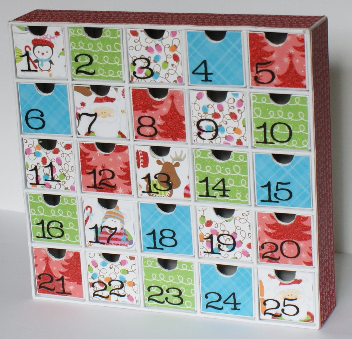 advent calendar 2 day shipping in us free personalization. Black Bedroom Furniture Sets. Home Design Ideas