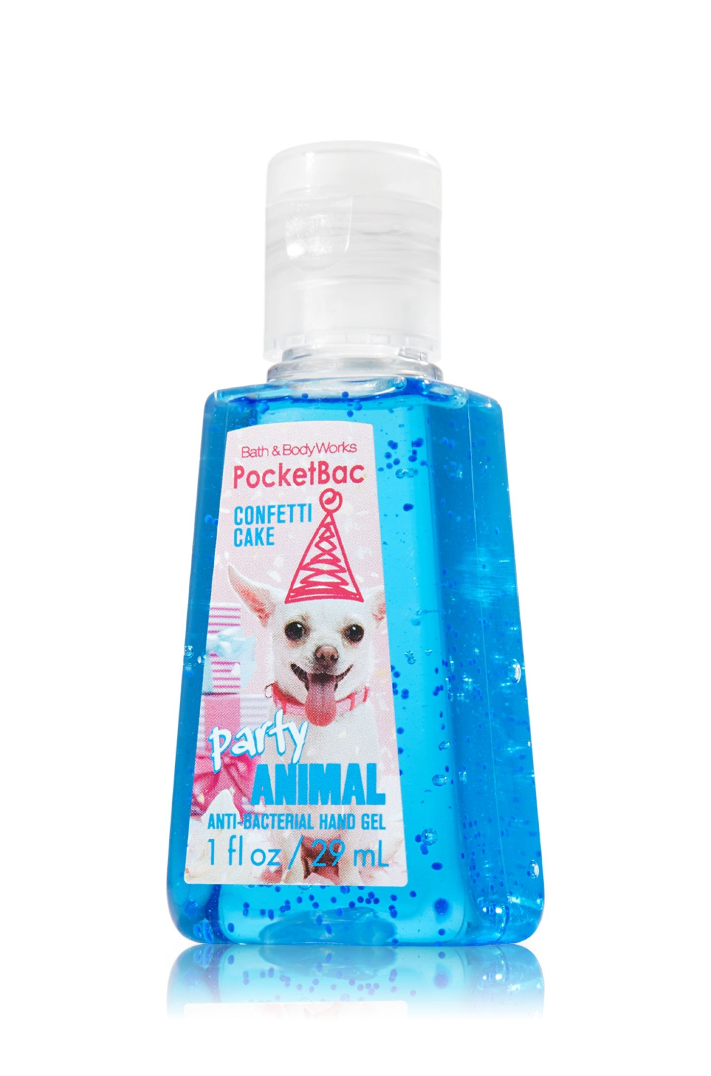Party Animal Pocketbac Sanitizing Hand Gel Anti Bacterial Bath