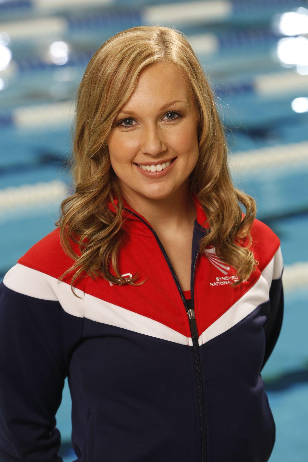 Mariya Koroleva 2012 U S Olympic Duet Olympics Swimmer Olympians