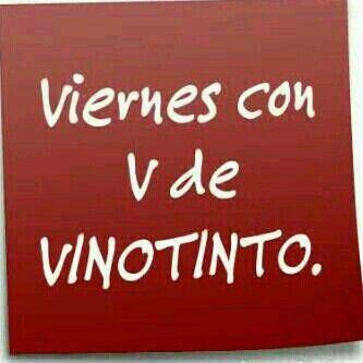 Viernes Vinos Frases Frases De Cervezas Y Copa De Vino Tinto