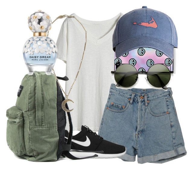 """""""Untitled #644"""" by ravenclaw-girl-1 ❤ liked on Polyvore featuring Harding-Lane, PèPè, NIKE, Alkemie and Marc Jacobs"""