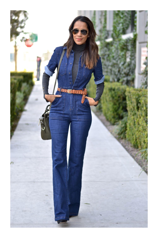 Pantalones denim con parches | Ropa, Ropa de mujer y Atuendo