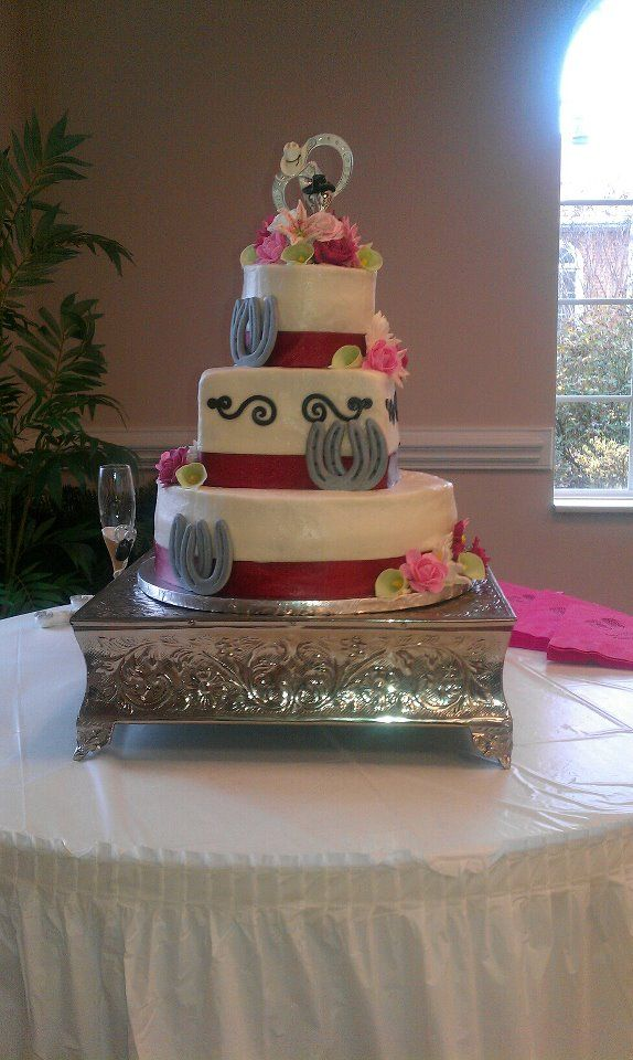 Country Wedding Cake. This is my first and so far only ...