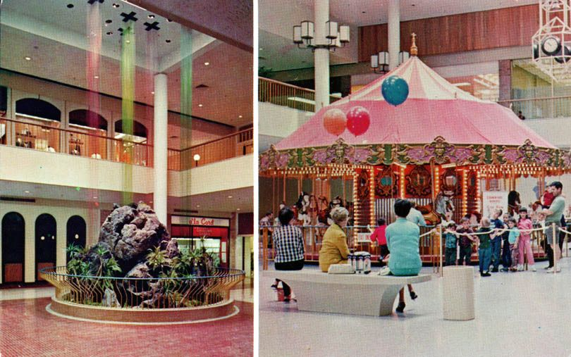 Vintage South Coast Plaza I Remember The Little Snack Bar And Restaurant There On Left Across From It Was Bergstrom S Baby News Where Bought A