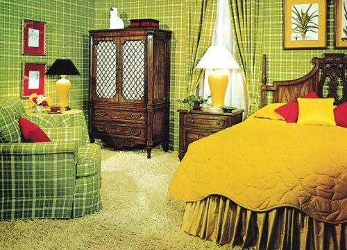 Bedroom Decor 1970s Pop Mod Colors But Otherwise Suburban 70s Home Decor Retro Home Decor Bedroom Decor
