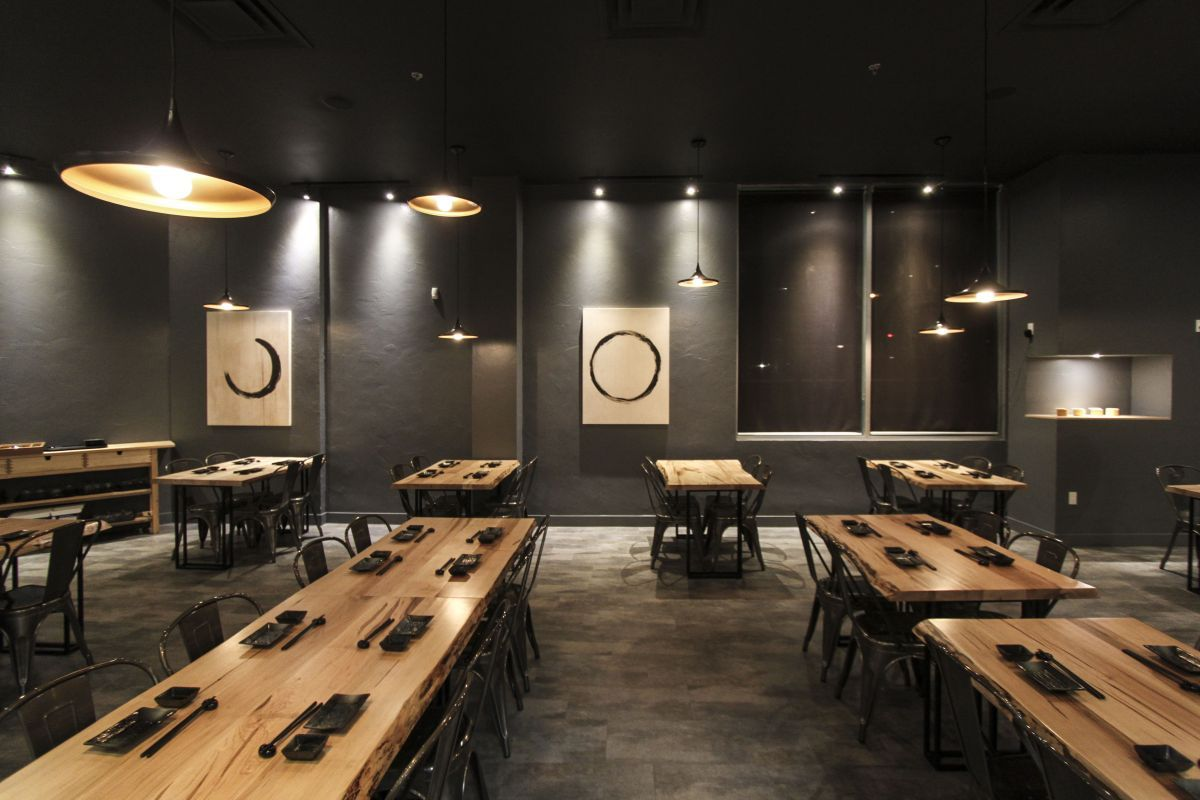 Le Japanese Modern Cuisine Restaurant Is A 2500 Sq Ft Renovation