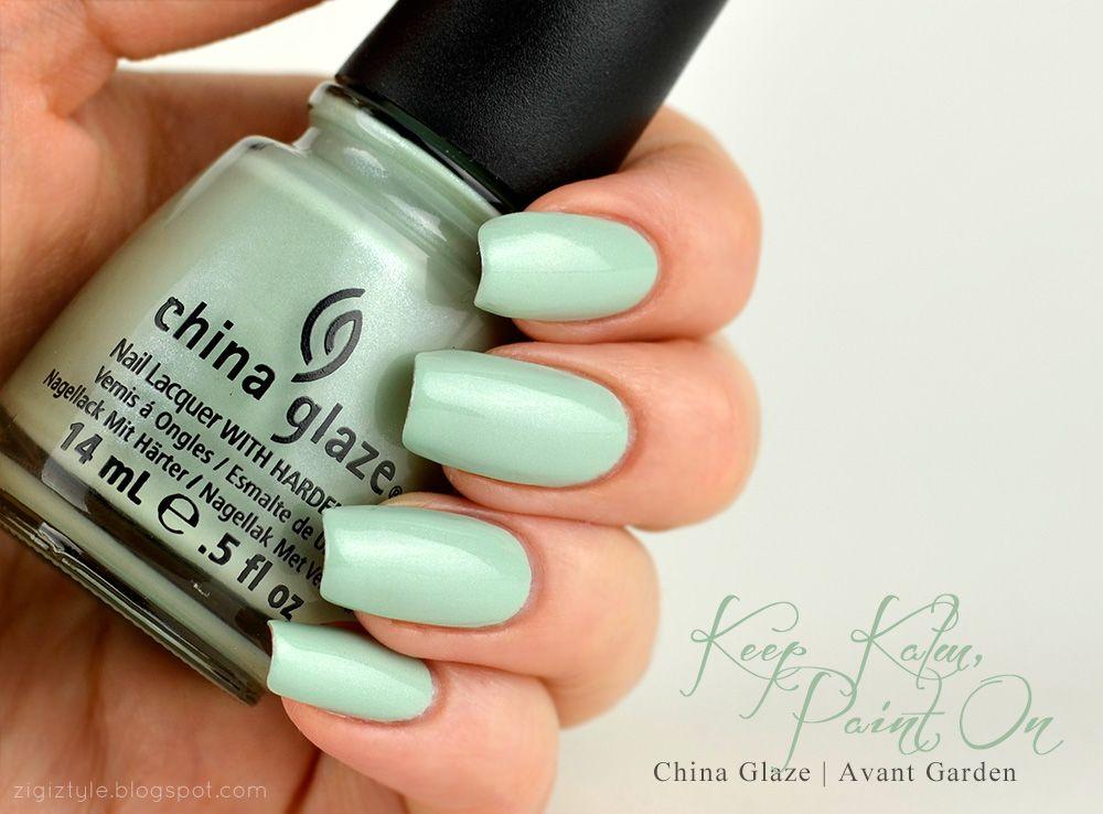 ZigiZtyle: China Glaze Avant Garden Collection