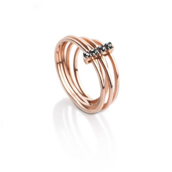MyriamSOS Double Circle Ring Number 2 ymGPx