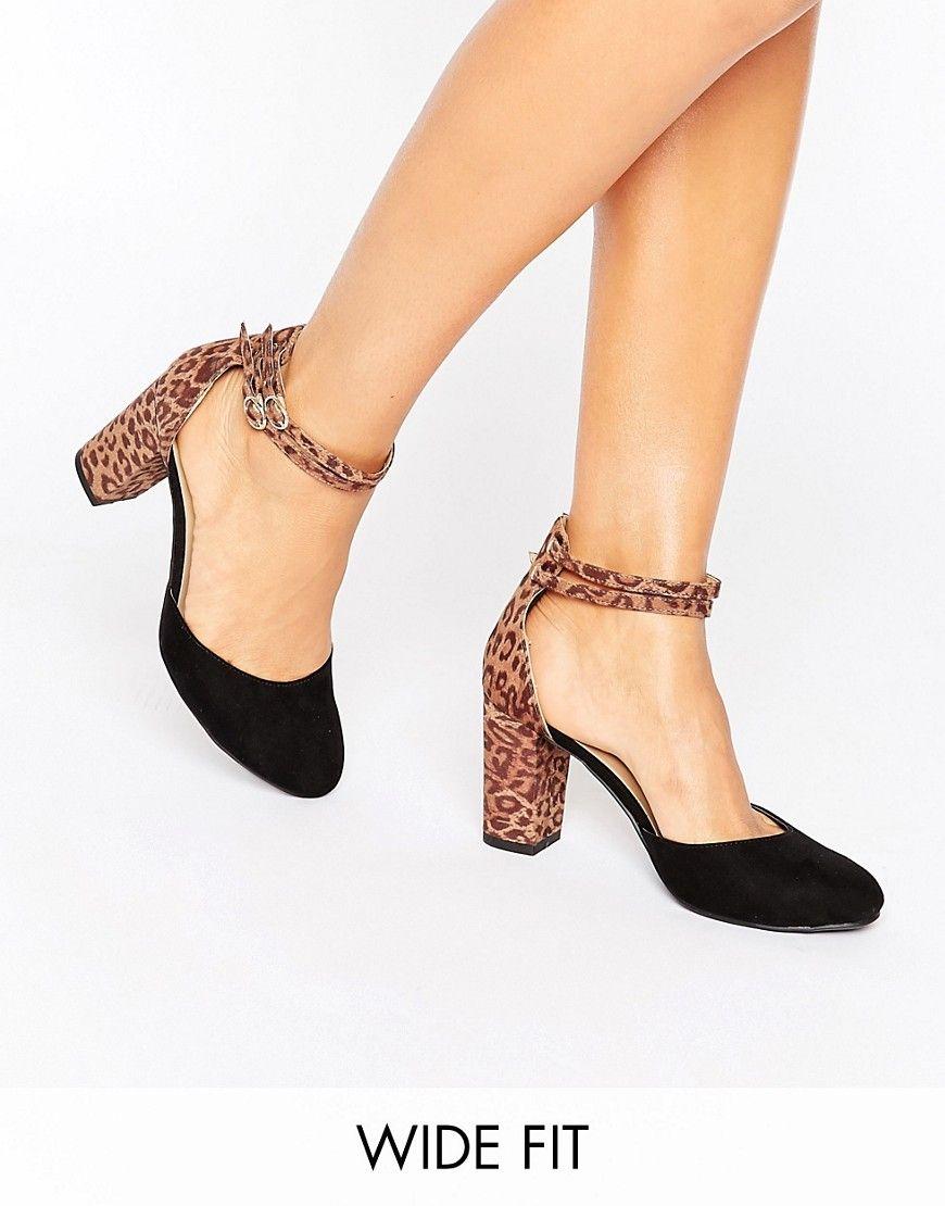 New Look Animal Print Heeled Sandals yT1Afe