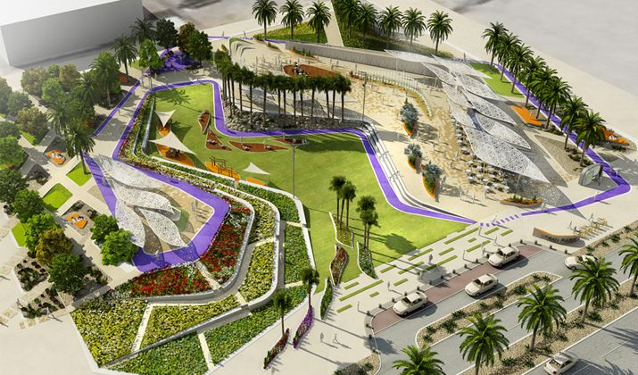 Image result for interactive landscape architecture for Garden design dubai