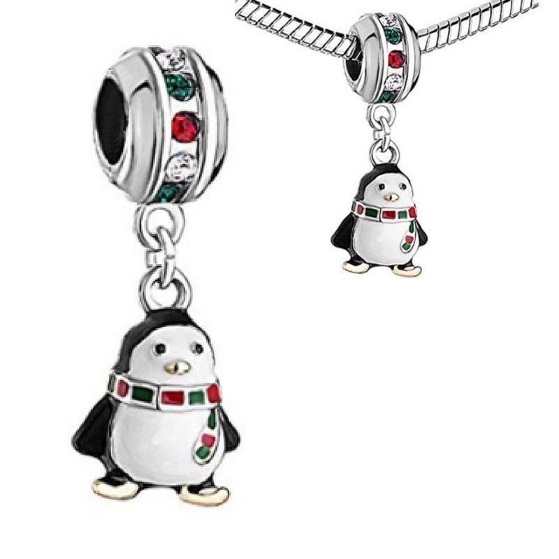 penguin charm for pandora bracelet