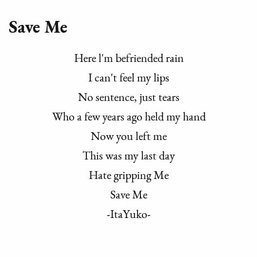poetry about your deep feeling #saveme #love #brokenheart