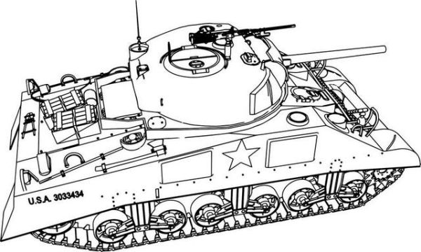Pin By Efrat Blau On 0 Tank Drawing Coloring Pages Army Tanks