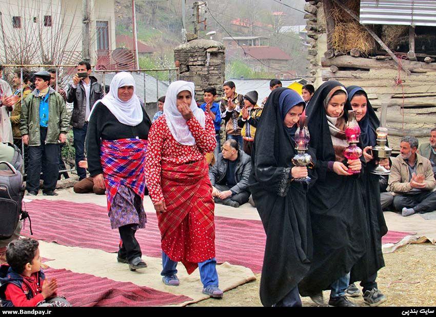 روستاهای ایران - جشن مارمه در روستای فیروزجا / بندپی بابل