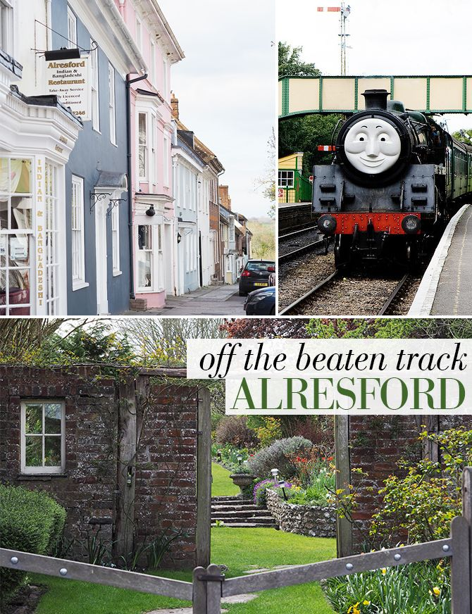 OFF THE BEATEN TRACK IN BRITAIN - Alresford: Exploring the colorful Georgian architecture in a historic town in Hampshire, England...