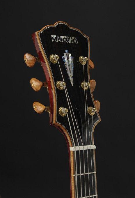 Beauregard Guitars Mario Beauregard Guitar Builder Luthier Montreal Canada Guitar Inlay Archtop Guitar Acoustic Instrument