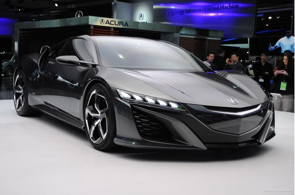 Hey look! Acura's going to show the NSX Concept, again. #GiveItToUsAlready