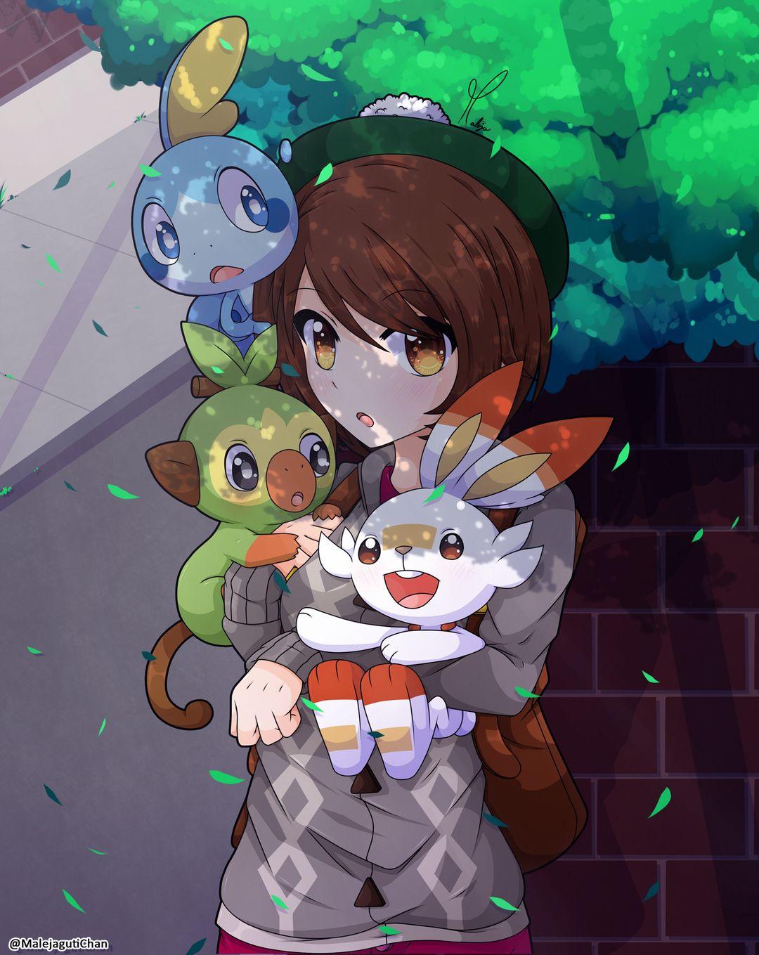 Pokemon Sword Shield Pokemon Characters Pokemon Waifu Pokemon