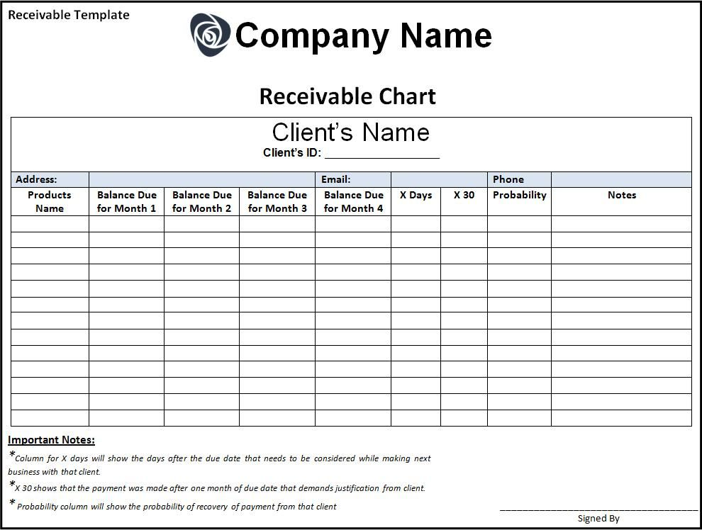 Remittance Template Word Template Templates Invoice Template