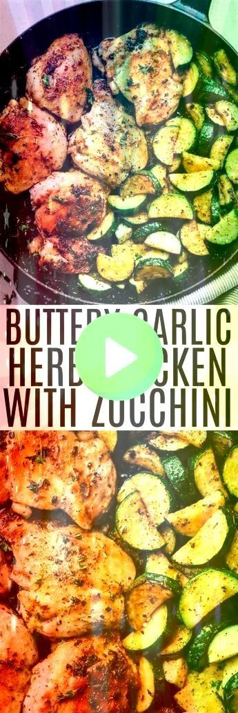 #zucchini #buttery #chicken #garlic #herb #withButtery Garlic Herb Chicken with Zucchini -Buttery Garlic Herb Chicken with Zucchini -  You know how I love my easy dinner recipes, especially when they turn out to be something my whole family loves! This is definitely one to add to your reci  In order to smash the Brussels sprouts, you need to boil them first. (Just like smashed potatoes!) Make sure to pat them realllll dry, even after you smashed them, so that they crisp up in the oven.  B... #sm #smashedbrusselsprouts