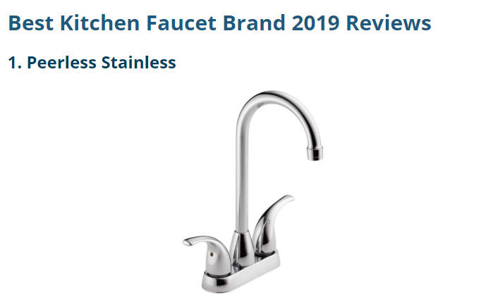 Read Reviews And Buy The Best Kitchen Faucets From Top Brands