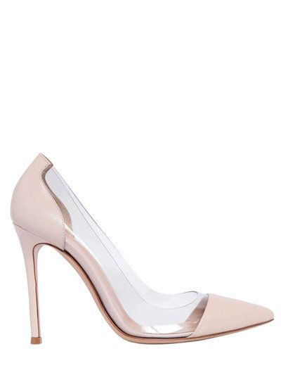 Best Place Gianvito Rossi 100MM NAPPA LEATHER PUMPS 2018 Online TSbcj